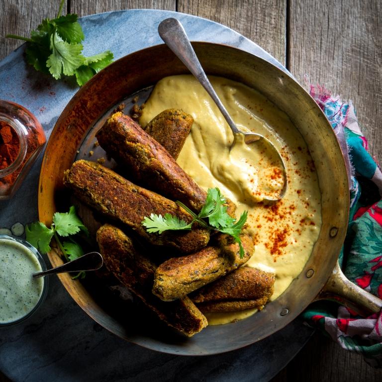 magimix-cook-expert-vegetable-kofta-yoghurt dip-cashew-sauce