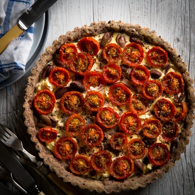 magimix-cook-expert-kalamata-tomato-tart
